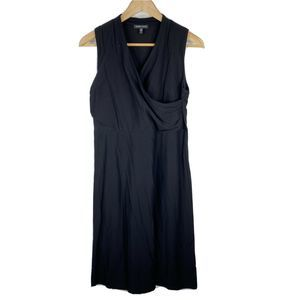 Eileen Fisher Dress Washable Stretch Sleeveless